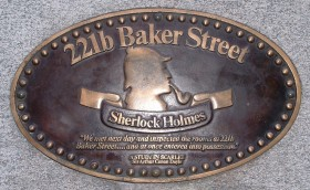 The entire play takes place within 221B Baker Street