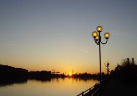 Preston Marina at Sunset