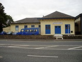 Preston Sea Cadets building after repainting