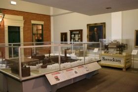 History exhibition at Harris Museum