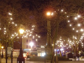 Preston Christmas lights on Flag Market