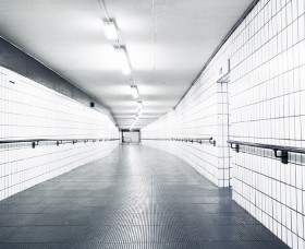 View of Bus Station subway