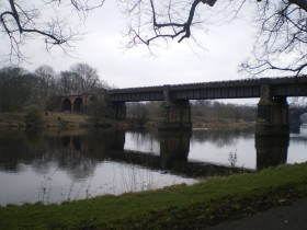 River Ribble by Avenham Park