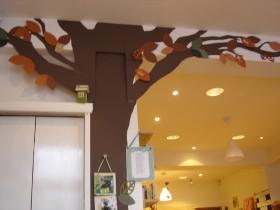 inside shop tree