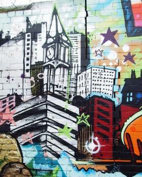 Mural in Preston