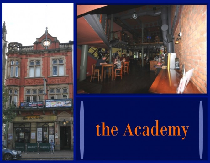Blog Preston - The Academy Pub Interior and Exterior