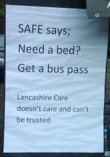 SAFE: Need a bed? Get a bus pass