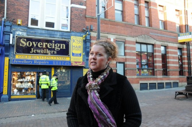 Shop owner Ruth Anderson talks to Blog Preston
