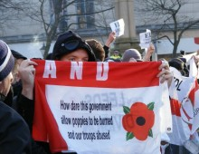 EDL protest in Preston - (c) Michael Morrison