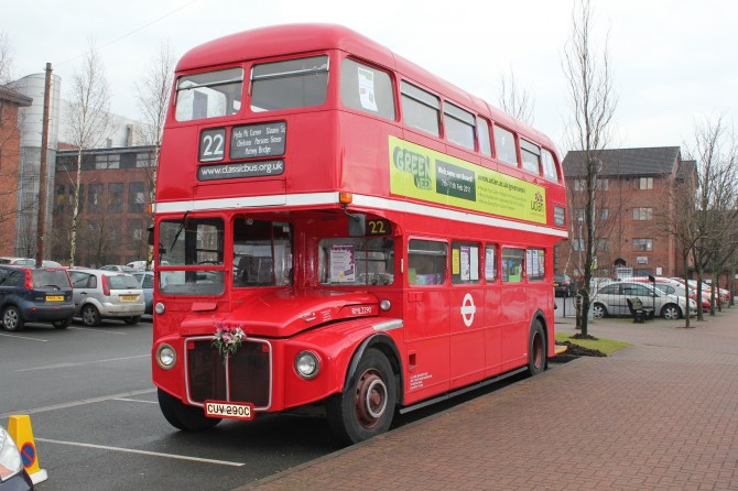 Green bus uclan