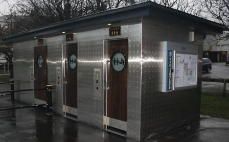 Preston's newest public toilets, on Kendal Street