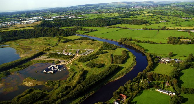 brockholes and river ribble