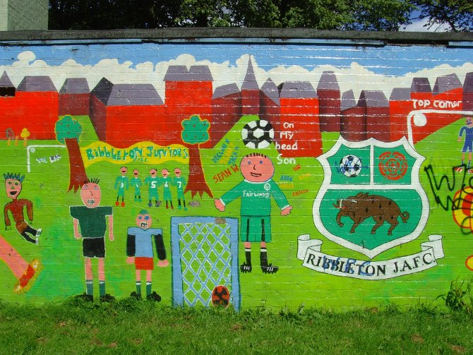 ribbleton mural
