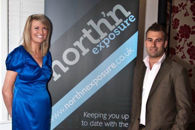 shelley redfern and gareth redfern at north'n exposure launch