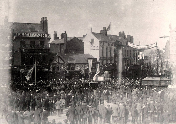 guild trades procession in 1882
