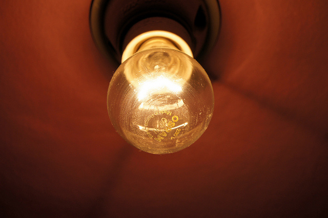 light bulb preston