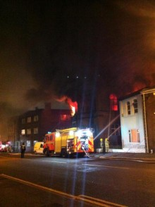 moor lane church fire preston