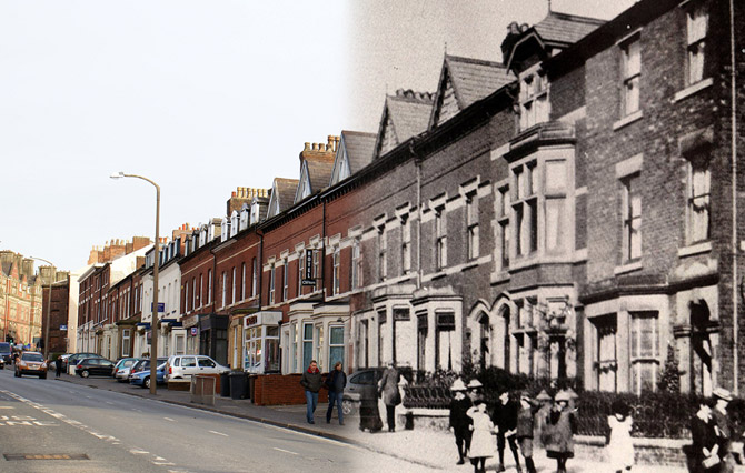 preston now and then fishergate hill