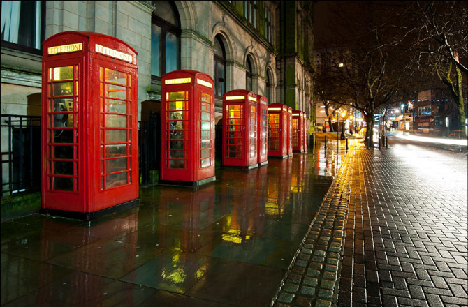 preston telephone boxes