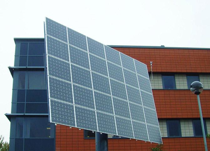 solar panel at uclan
