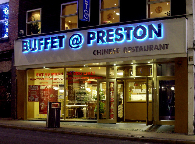 Buffet @ Preston. Photo credits: Tony Worrall