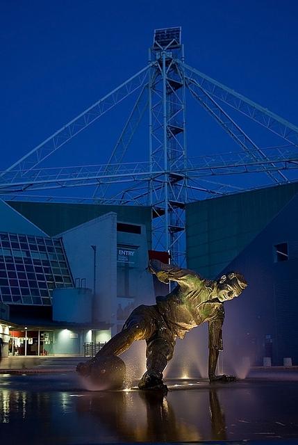Deepdale Stadium, home of Preston North End