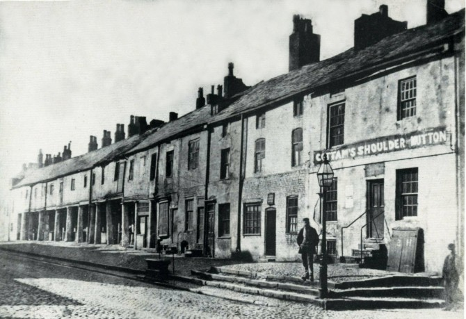 Who would recognise this view of Lancaster Road today?