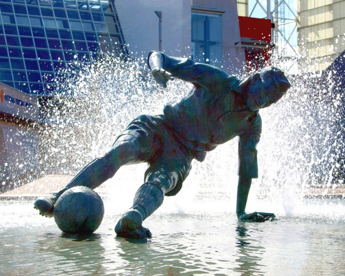 sir tom finney's splash