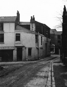 Junction Of Chapel Walks & George's Road Looking Westward (Lancashire Lantern)