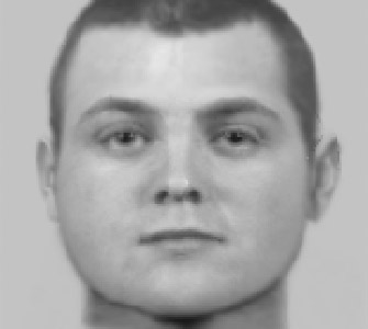 An evofit of the man thought to have burgled a house in Fulwood