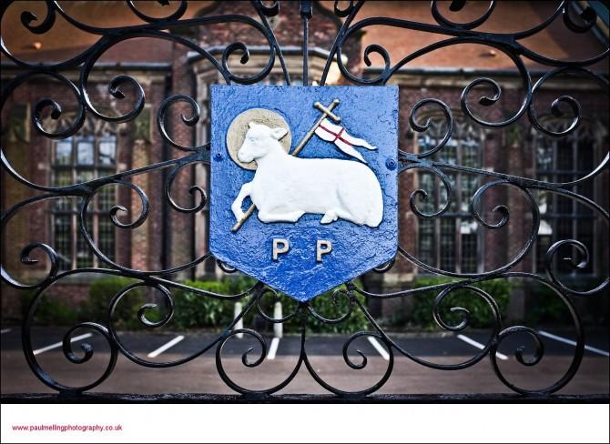 lamb and flag