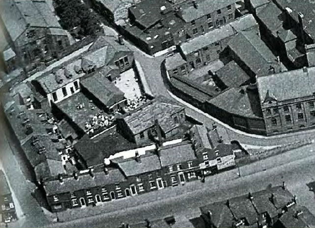 aerial shot of Appleby House