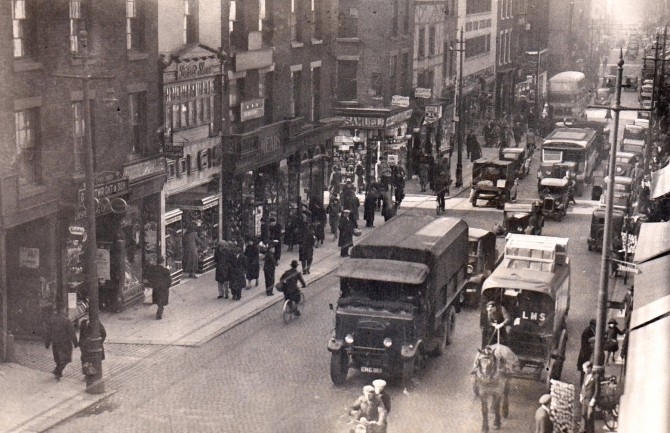 Fishergate, Preston c. 1940