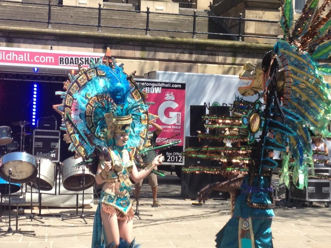 Preston Caribbean Carnival King and Queen