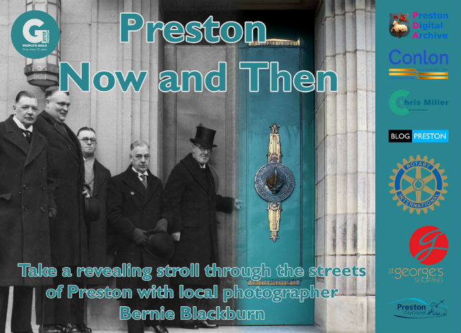 preston now and then poster