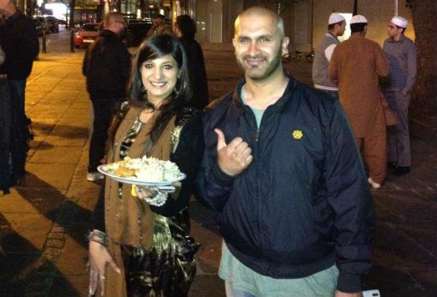 preston feeds homeless volunteers