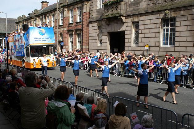 guild trades procession