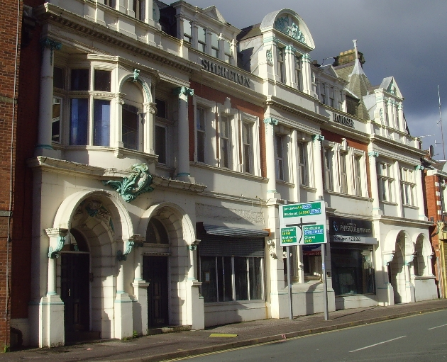 The former Co-operative offices in the city centre are empty and run down