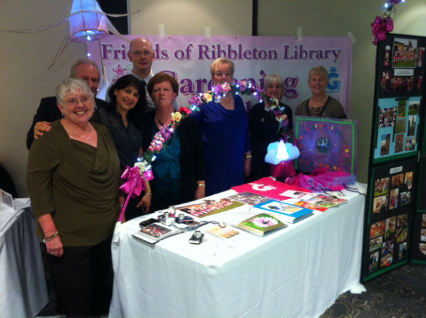 The Friends of Ribbleton Library celebrate their win