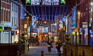 preston christmas lights 2012