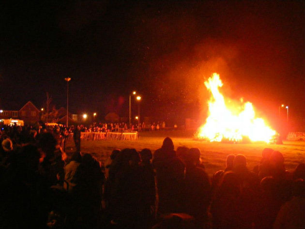 cottam bonfire