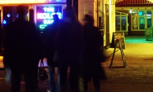 Revellers out on the city streets have been warned about drunken behaviour