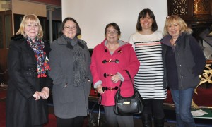 Emma at the PHS meeting with some of Will Onda's decendant relatives.