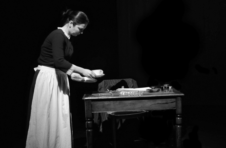 Cristina Neacsu as the Maid Servant
