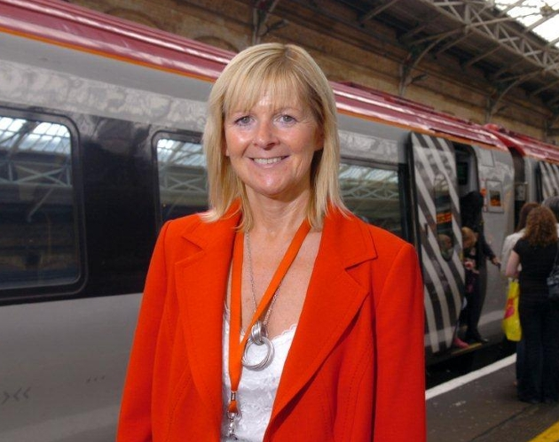 Jane Cole, General Manager Virgin Trains Preston