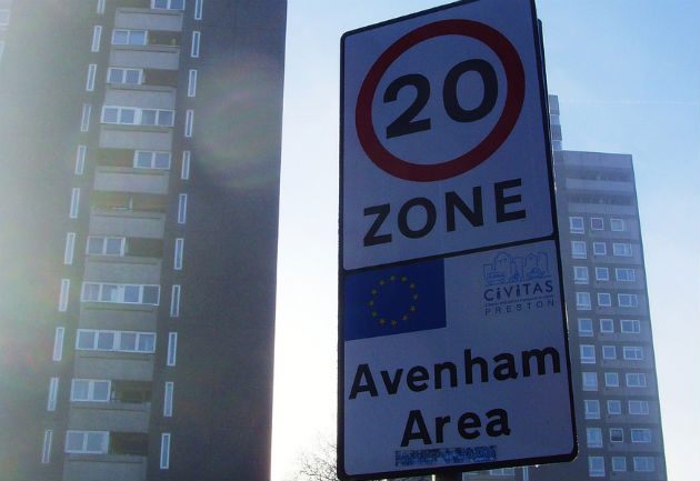 20mph zones have already been introduced on some roads in the city