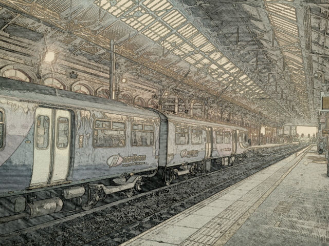 Preston train station