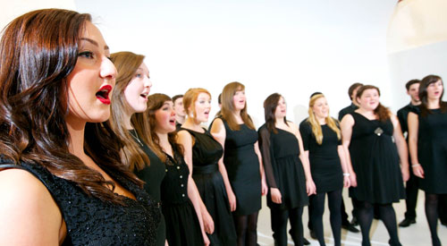 UCLan choir
