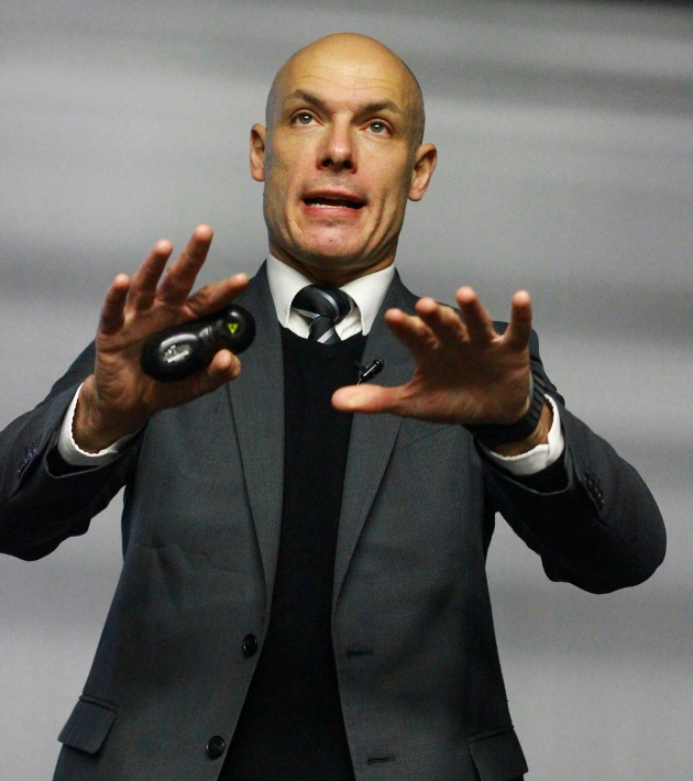 Howard Webb at Preston College Copyright Brandon Jackson