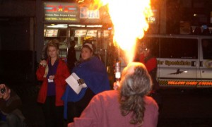 Firebeathers on Church Street were one of the attractions during the last Preston by Night weekend